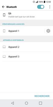 LG Q6 - WiFi et Bluetooth - Jumeler votre téléphone avec un accessoire bluetooth - Étape 8
