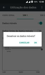 Alcatel Pixi 4 - Rede móvel - Como ativar e desativar uma rede de dados - Etapa 7