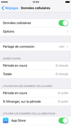 Apple iPhone 6s iOS 10 - Internet - activer ou désactiver - Étape 4