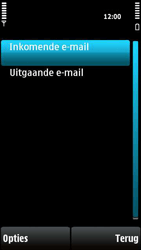 Nokia X6-00 - E-mail - Handmatig instellen - Stap 23