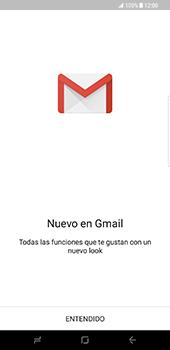 Samsung Galaxy S8 Plus - E-mail - Configurar Gmail - Paso 5