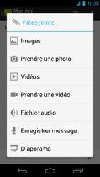 Samsung I9250 Galaxy Nexus - MMS - Envoi d
