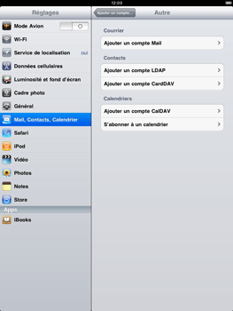 Apple iPad 2 - E-mail - Configuration manuelle - Étape 5