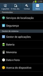 Samsung Galaxy S3 - Segurança - Como ativar o código PIN do cartão de telemóvel -  5