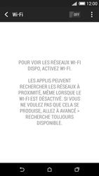 HTC Desire 820 - Internet et connexion - Accéder au réseau Wi-Fi - Étape 5