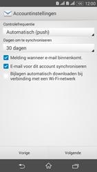 Sony E2003 Xperia E4 G - E-mail - Handmatig instellen - Stap 18