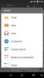 HTC Desire 530 - E-mails - Envoyer un e-mail - Étape 11