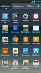 LG Optimus L9 - WiFi - Conectarse a una red WiFi - Paso 3