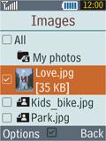 Samsung B2100 Xplorer - E-mail - Sending emails - Step 15