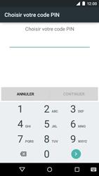 Motorola Moto E (1st Gen) (Lollipop) - Sécuriser votre mobile - Activer le code de verrouillage - Étape 7