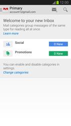 Samsung I9300 Galaxy S III - E-mail - Manual configuration (gmail) - Step 4