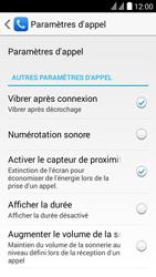 Huawei Y625 - Messagerie vocale - configuration manuelle - Étape 6