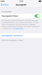 Apple iPhone 6s iOS 10 - Device maintenance - Back up - Étape 13