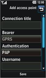 LG GD510 Pop - Mms - Manual configuration - Step 6