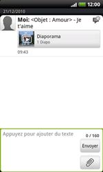 HTC A7272 Desire Z - MMS - envoi d'images - Étape 12