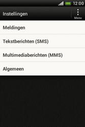 HTC A320e Desire C - MMS - probleem met ontvangen - Stap 4