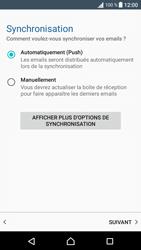 Sony Sony Xperia XA (F3111) - E-mail - Configuration manuelle (outlook) - Étape 13