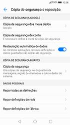 Huawei P10 Lite - Repor definições - Como repor definições de fábrica do telemóvel -  6