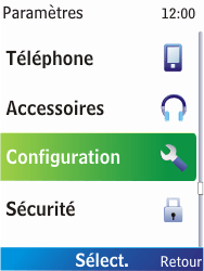 Nokia X2-00 - Internet - Configuration automatique - Étape 7