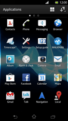 Sony LT30p Xperia T - Applications - Downloading applications - Step 3