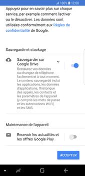 Samsung Galaxy S9 - Applications - Créer un compte - Étape 17