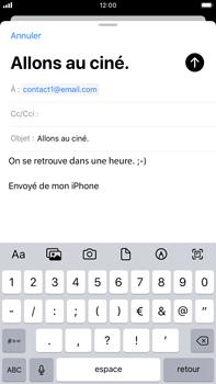 Apple iPhone 7 Plus - iOS 13 - E-mail - envoyer un e-mail - Étape 7