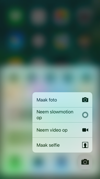 Apple Apple iPhone 6s Plus iOS 10 - iOS features - Bedieningspaneel - Stap 8