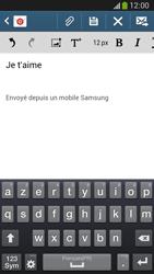 Samsung C105 Galaxy S IV Zoom LTE - E-mail - envoyer un e-mail - Étape 9