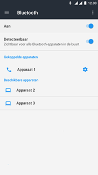 OnePlus 3 - Android Nougat - Bluetooth - headset, carkit verbinding - Stap 8
