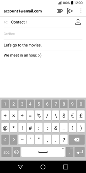 LG Q6 - Email - Sending an email message - Step 11