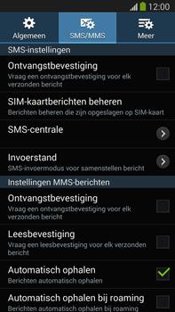 Samsung N9005 Galaxy Note III LTE - SMS - Handmatig instellen - Stap 9