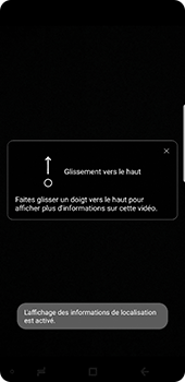Samsung Galaxy Note 9 - Photos, vidéos, musique - Créer une vidéo - Étape 16