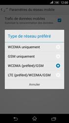 Sony Xperia E4g - Internet et connexion - Activer la 4G - Étape 7