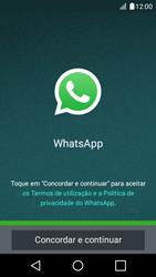 LG K4 - Aplicações - Como configurar o WhatsApp -  5