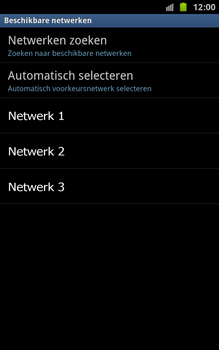 Samsung N7000 Galaxy Note - Netwerk - gebruik in het buitenland - Stap 10