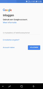 Samsung galaxy-a6-sm-a600fn-ds - Applicaties - Account aanmaken - Stap 5