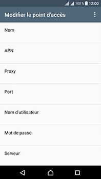 Sony Xperia L1 - Mms - Configuration manuelle - Étape 9