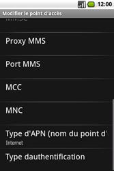 Samsung I7500 Galaxy - Internet - Configuration manuelle - Étape 10