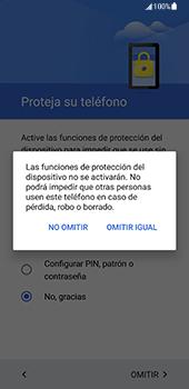 Samsung Galaxy S8 - Primeros pasos - Activar el equipo - Paso 13