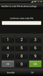 HTC One S - Sécuriser votre mobile - Activer le code de verrouillage - Étape 10