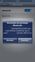 Apple iPhone 5 - Bluetooth - connexion Bluetooth - Étape 8