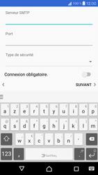 Sony Xperia X Compact - E-mail - Configurer l
