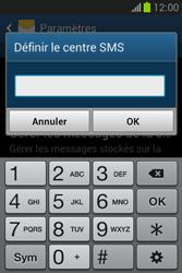 Samsung S6790 Galaxy Fame Lite - SMS - configuration manuelle - Étape 7