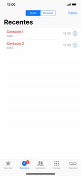 Apple iPhone XR - Chamadas - Como bloquear chamadas de um número -  4