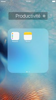 Apple iPhone 6s Plus - Applications - Personnaliser l