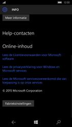 Microsoft Lumia 650 (Type RM-1152) - Instellingen aanpassen - Fabrieksinstellingen terugzetten - Stap 6