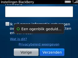 BlackBerry 9720 Bold - BlackBerry activeren - BlackBerry ID activeren - Stap 13