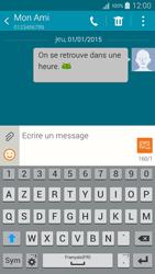 Samsung Galaxy A5 (A500FU) - Contact, Appels, SMS/MMS - Envoyer un SMS - Étape 12