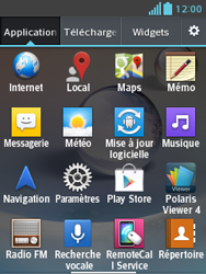 LG E430 Optimus L3 II - Messagerie vocale - configuration manuelle - Étape 4