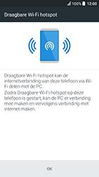HTC U Play (Model 2PZM3) - WiFi - Mobiele hotspot instellen - Stap 7